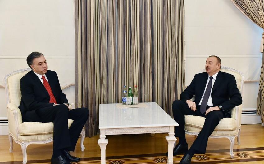 Azərbaycan Prezidenti monteneqrolu həmkarı ilə görüşüb - YENİLƏNİB