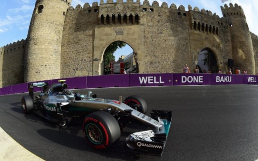 Traffic will be limited due to Formula 1 in Baku