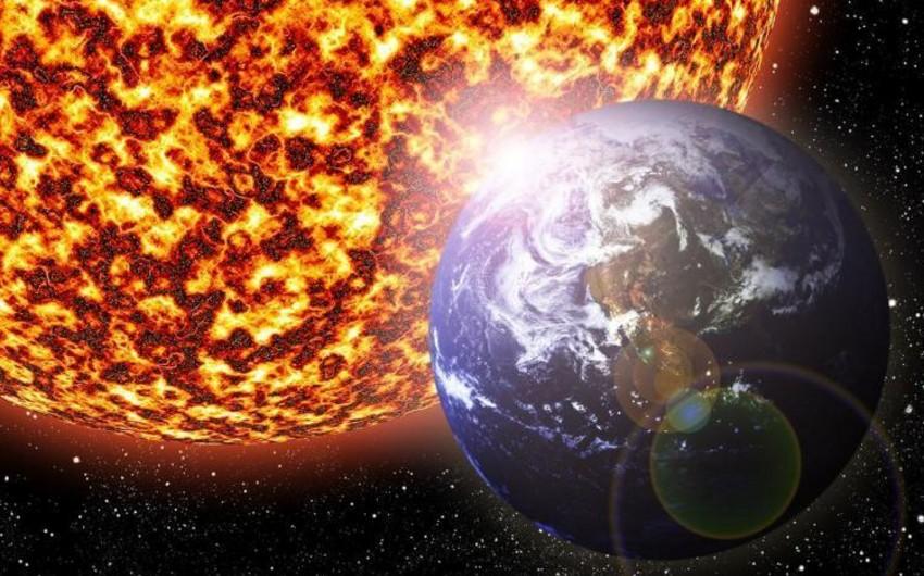 Kosmik hava durumu: Günəş fəallığı çox aşağı səviyyədə olub