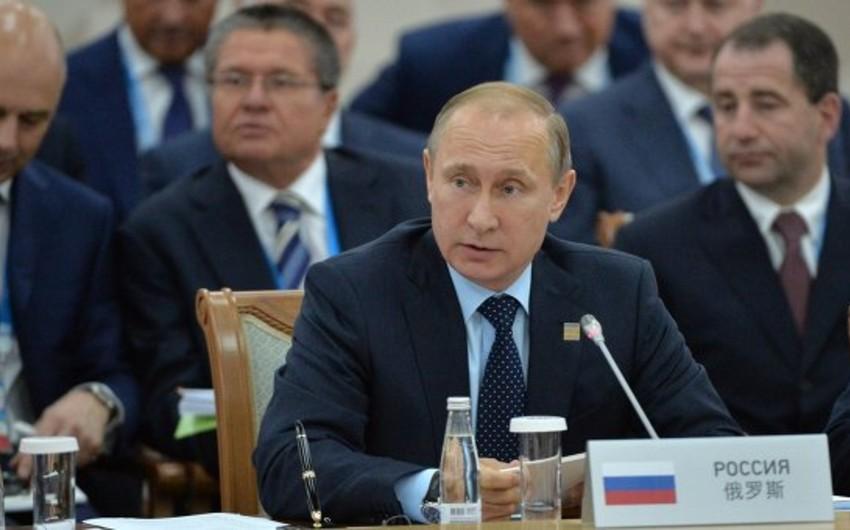 Путин: Азербайджан присоединяется к ШОС как партнер