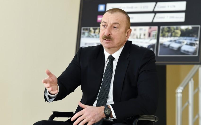 Prezident: Azərbaycan ərazisində hər hansı bir başqa xarici qüvvələrin yerləşməsi müzakirə mövzusu deyil