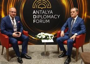 Главы МИД Азербайджана и Хорватии обсудили вопросы сотрудничества