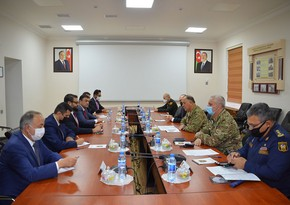 Azerbaijan's Defense Ministry hosts meeting with Afghan delegation
