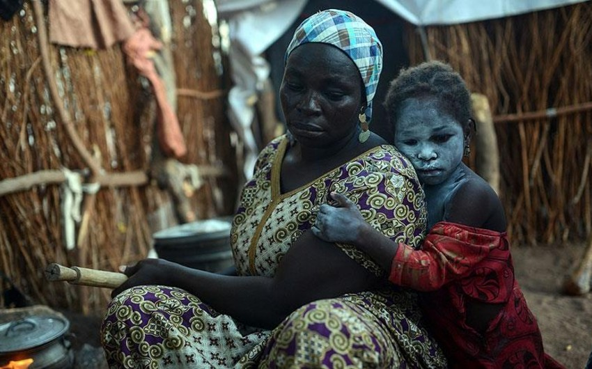 Nigeriyada bir ayda 200 qaçqın aclıq və susuzluqdan ölüb