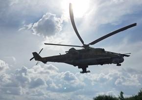 KİV: Rusiya helikopteri Suriyada qəzaya uğrayıb, ölən var