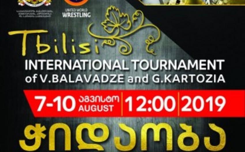 Азербайджанские борцы выступят на турнире Гран-при в Грузии