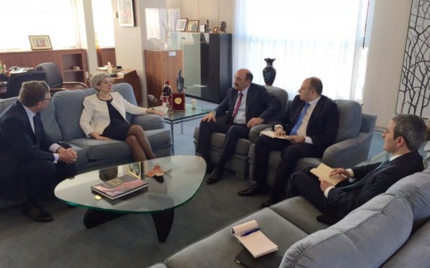 Azərbaycanla UNESCO arasındakı əməkdaşlıq müzakirə edilib