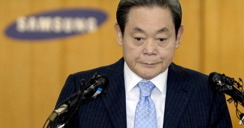 Samsung chairman dies at 78