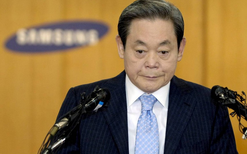 Умер глава Samsung