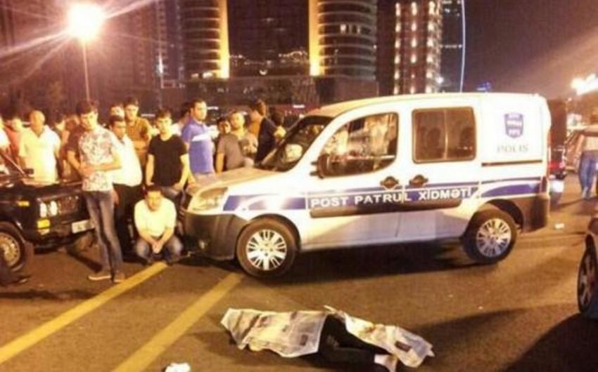 Bakıda avtomobil 25 yaşlı gənci vuraraq öldürüb
