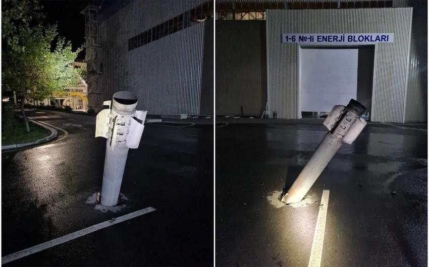 Azərbaycan Ordusu düşmənin Mingəçevirə atdığı raketləri göydə vurub