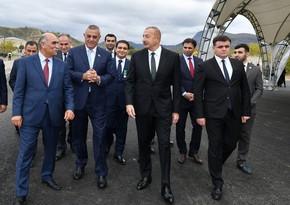 Prezident İlham Əliyev: Zəngilan məscidi bərpa edilir, orada lövhələr də qoyulub