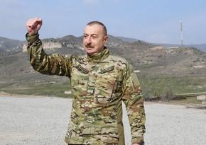 Ильхам Алиев: «Мы восстановим все освобожденные территории»