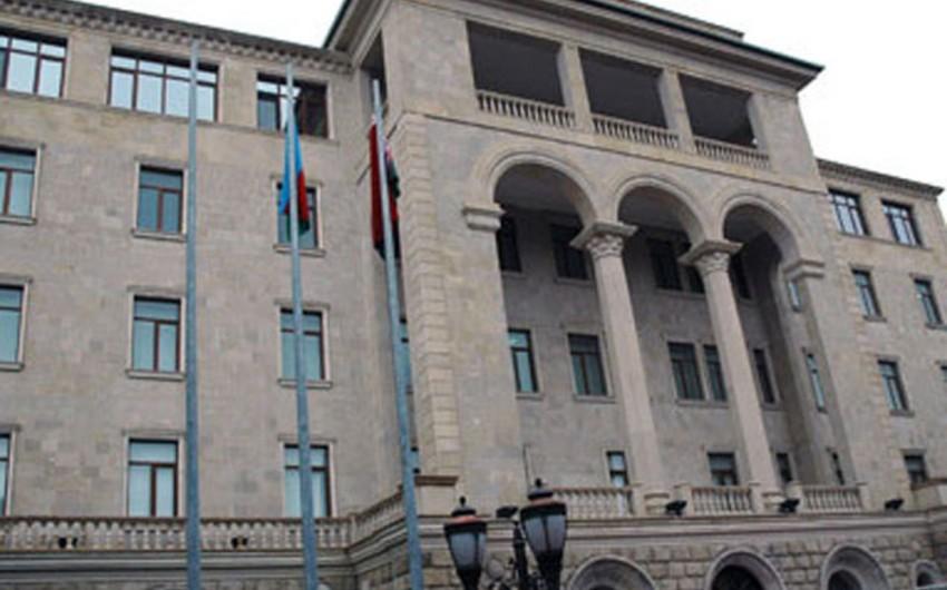 Azərbaycan MN: Vəziyyətin gərginləşməsinə görə Ermənistanın kriminal hərbi-siyasi rejimi məsuliyyət daşıyır