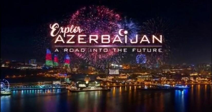 Discover Azerbaijan - a road into the future video clip hits BBC World News