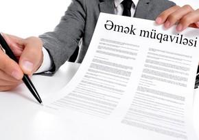 Qeyri-neft sektorunun özəl bölməsində əmək müqavilələrinin sayı 745 minə çatıb