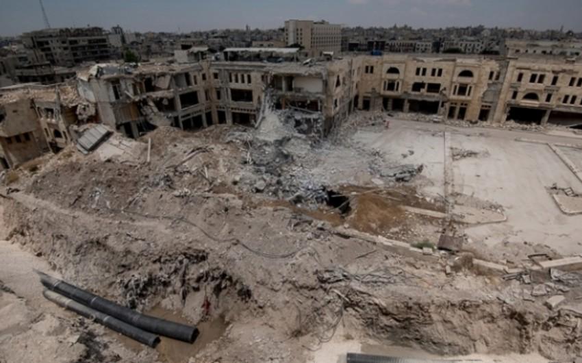 Suriyada koalisiyanın bombardımanı nəticəsində 12 dinc sakin ölüb