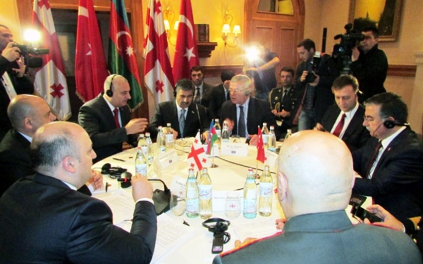 Azerbaijan, Georgia and Turkey hold trilateral meeting of defense ministers