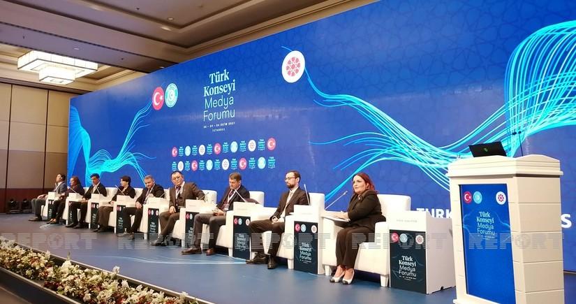 На медиа форуме Тюркского совета обсуждалась тема «Победа, рожденная единством: Карабах»