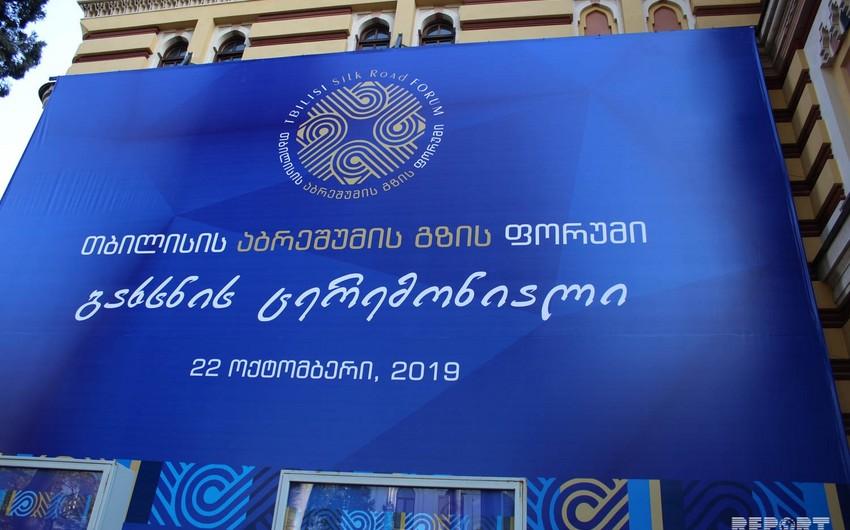 Tbilisidə İpək Yolu Forumu keçirilir