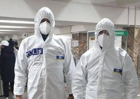 Metronun Memar Əcəmi stansiyasında koronavirus xəstəsi saxlanılıb