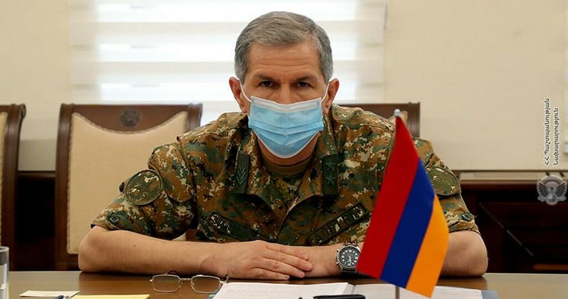 Главу Генштаба Армении уволят без одобрения президента