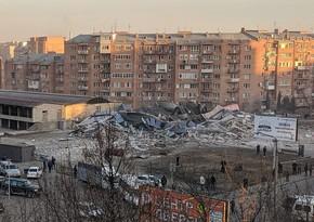 В России произошел взрыв в супермаркете