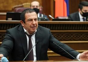 Царукян: С Пашиняном обсуждали условия его отставки