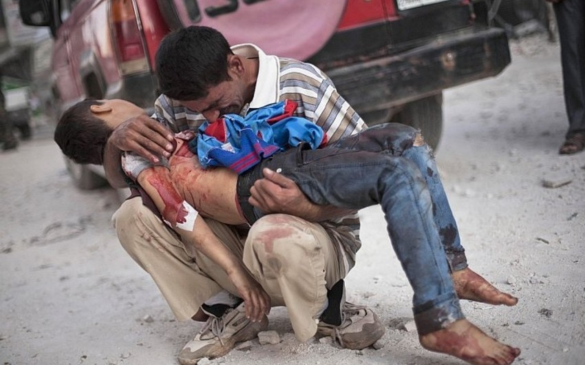 İŞİD terrorçuları Suriyada ikisi uşaq olmaqla 6 dinc sakini edam ediblər