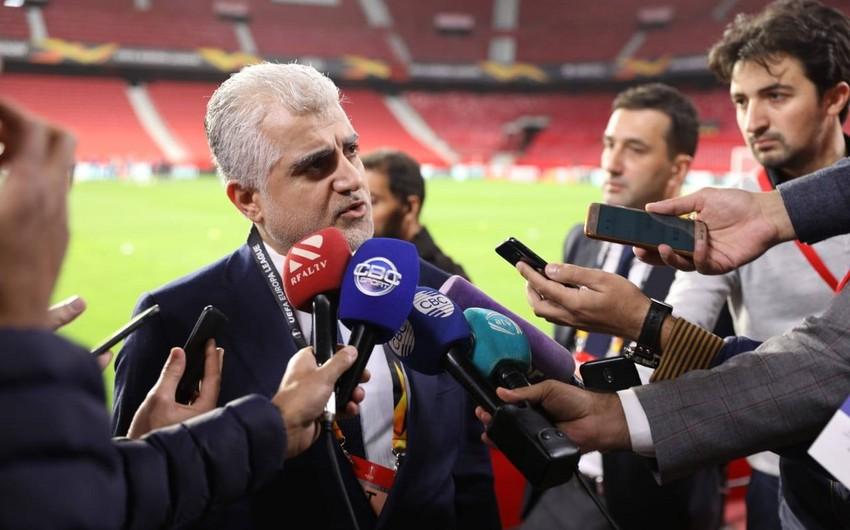 Tahir Gözəl: UEFA matçın neytral meydanda keçirilməsinə yönəlib