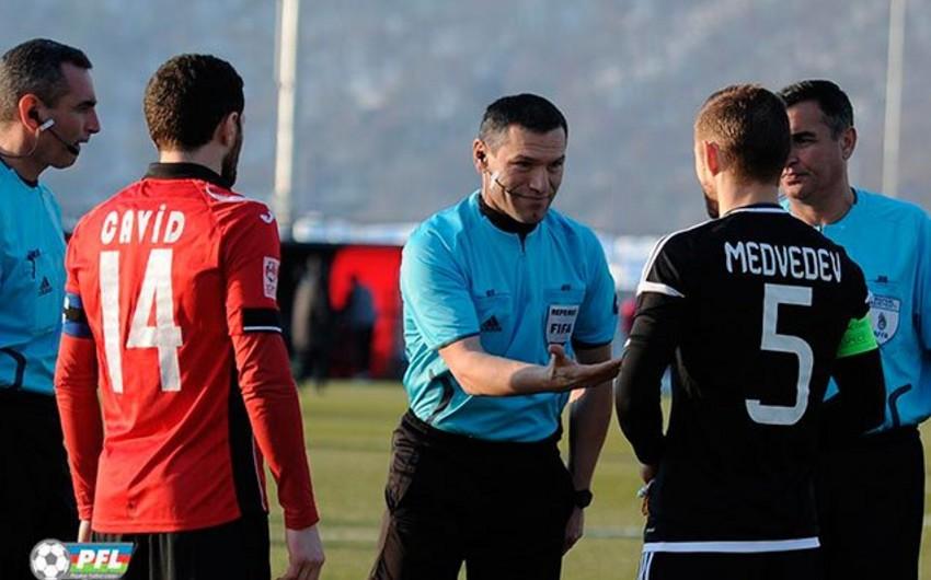 Futbol üzrə Azərbaycan Premyer Liqasında III turun bütün təyinatları açıqlanıb