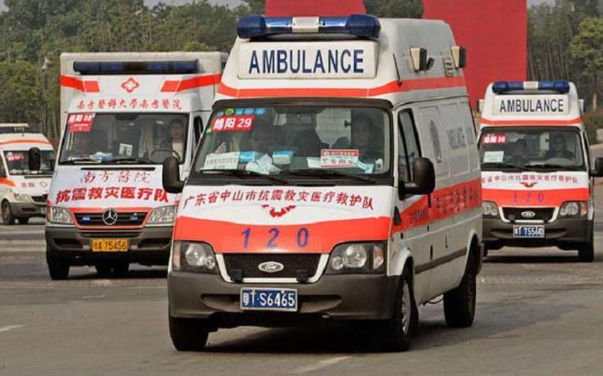 Çində yaşayış binasında partlayış olub, ölənlər və yaralananlar var