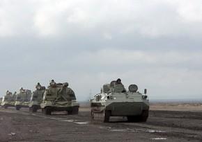 MoD: Rocket, artillery units move forward on designated routes