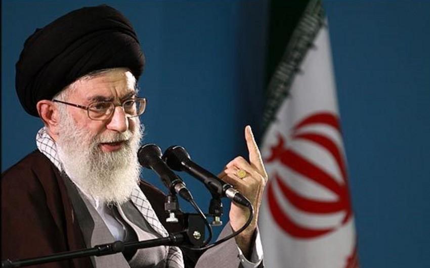 Xamenei: İŞİD İranın məhv edilməsi üçün yaradılıb