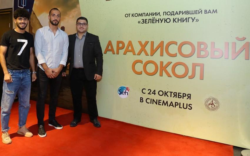 """""""CinemaPlus""""da """"Araxis Yağlı Tərlan"""" filmi nümayiş olunub - VİDEO"""