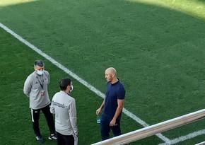 Riçard Almeyda Zirə - Qarabağ oyununda
