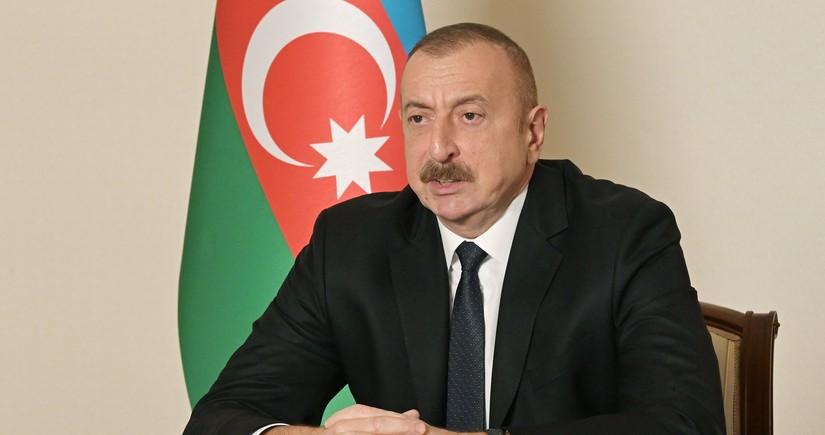 Президент: Деятельность миротворцев в Азербайджане носит временный характер
