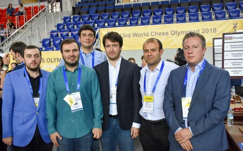 Ümumdünya Şahmat Olimpiadası: Azərbaycan yığmalarının ABŞ və Gürcüstanla oyunlar üçün heyəti açıqlanıb