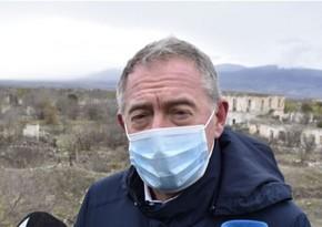 İtaliya Senatının üzvü: Bu torpaqları işğaldan azad etmək Azərbaycanın haqqıdır