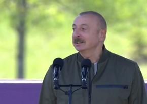 Ильхам Алиев: В следующем году мы отметим 270-летие Шуши