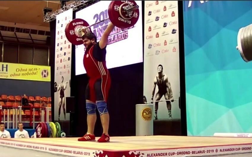 Azərbaycanın ağır atleti Alexander Cupda gümüş medal qazanıb - VİDEO
