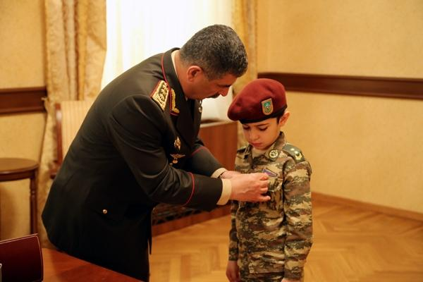 'National Hero of Azerbaijan' awards of martyred servicemen presented to their family members
