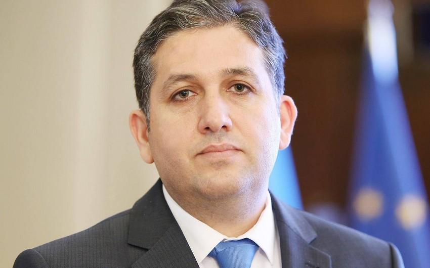 """Mansur Piriyev """"Tərəqqi"""" medalı ilə təltif olunub"""