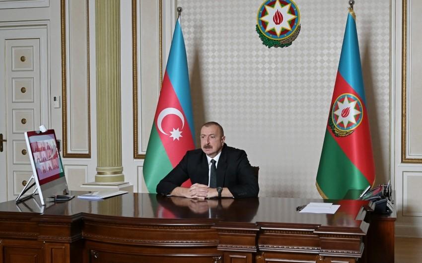 Prezident: BMT Nizamnaməsinə əsasən, Ermənistan Azərbaycana qarşı ağır cinayətlərə görə məsuliyyət daşımalıdır