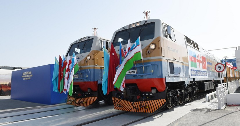 Third export train from Turkey to China departs via BTK