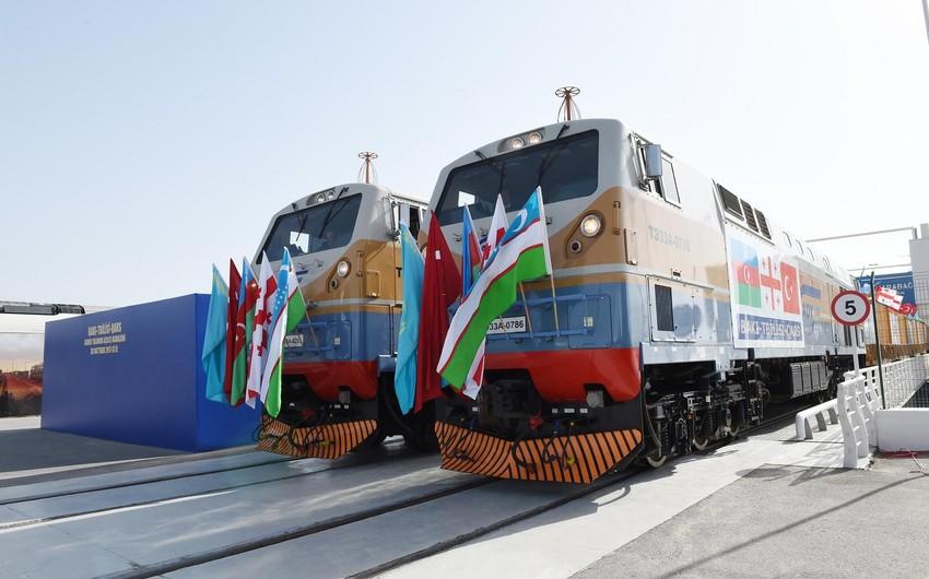 Third export train from Turkey to China departs via BTK