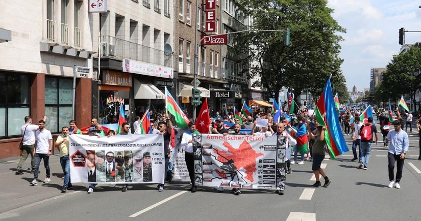 """Almaniyada """"Erməni terroruna və işğalına yox"""" yürüşü keçiriləcək"""