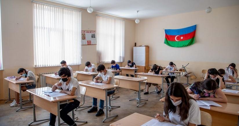 Bu gün növbəti buraxılış imtahanları keçirilib - YENİLƏNİB