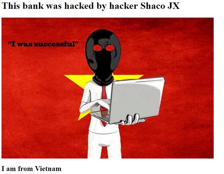 Hakerlər Amrahbankın veb-saytını dağıdıb