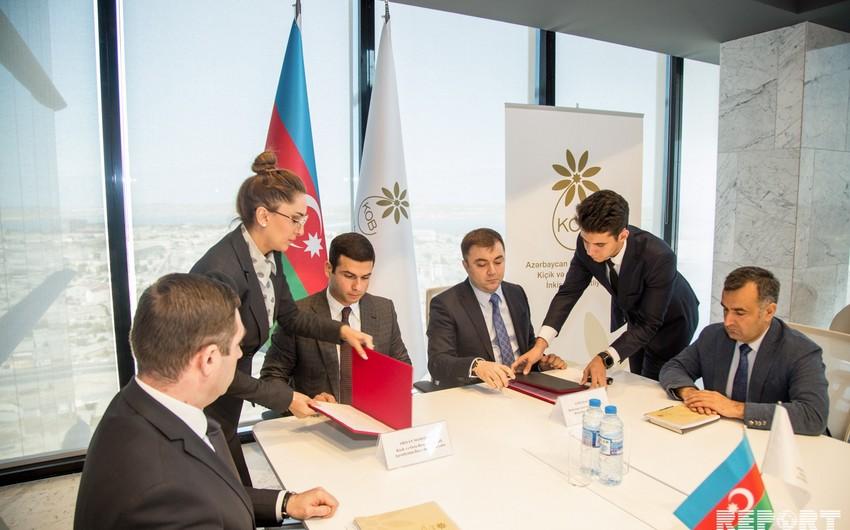 Kiçik və Orta Biznesin İnkişafı Agentliyi ilə AMOR arasında memorandum imzalanıb